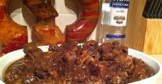 My favorite Jamaican dish has to be Oxtail. Rich beefy taste and the savory gravy that every rice dish begs for.                  Start wi...
