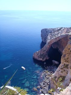 Blue Grotto, Malta- amazing! Take a boat tour, the coral glows in the caves-- how cool is that?!