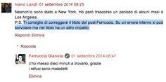 Ferruccio Gianola: Maledetti refusi