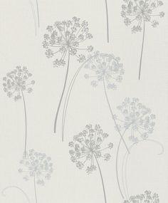 Rasch tapeten blumen grün  7-440430 Sophie Charlotte Rasch Blüten Vliestapete bunt Natur ...