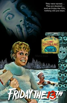 Friday the 13th 1980 Horror Movie Slasher Fan Made Edit