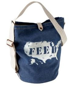 Gap & FEED Projects bag by Popsop