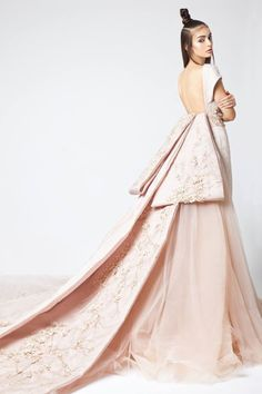 Elio Abou Fayssal Haute Couture Spring 2016, Sakura Collection.