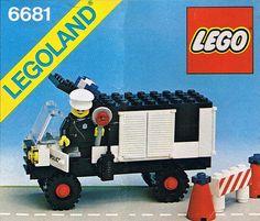 6681-1: Police Van | Brickset: LEGO set guide and database