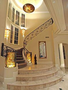 The Lakes Northshore Estates 8741 Newport Isle Court - Staircase - Luxury Las Vegas Homes | Flickr: Intercambio de fotos
