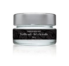 TRUFFLE SALT - BEAUTIFULLY PRESENTED Gourmet Gift Baskets, Black Truffle, Pasta Sauces, Roasted Meat, Salt, Cool Stuff, Products, Truffle, Cool Things