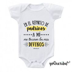 In the godparents cast, the best ones touched me Baby Shawer, Mom And Baby, Baby Kids, Babies R, Baby Shirts, Onesies, Diy Shirt, Baby Bodysuit, Baby Pictures