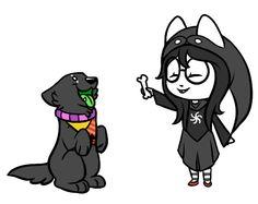 worse friend, bad dog