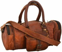 8243dcf8075fd Vintage Leather Travel Duffle Bag Leather Gym Luggage Bag Satchel Bag.........  #Handmade #TravelBag