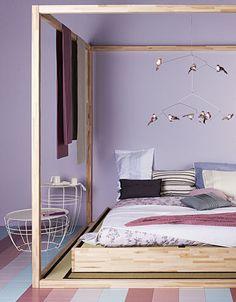 Come fare un baldacchino: camera da letto