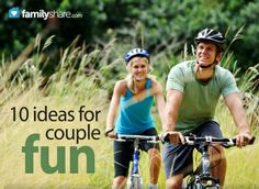The couple that plays together stays together: 10 ideas for couple fun from FamilyShare.com @familyshare.com #dating #spouse #marriage #fun