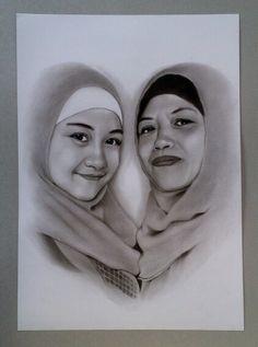 Jasa lukis wajah pensil realis karikatur, sketsa pensil , lukisan wajah pensil http://lukiswajah.com/