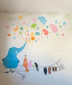 Fresque Murale Dans La Chambre D Enfant 35 Dessins Joviaux Design Interieur Et 3d
