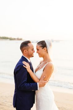 Beach wedding in Athens Greece - Wedding Photographer in Greece | Elias Kordelakos