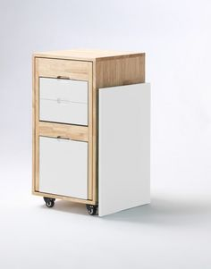 Ludovico office by Claudio Sibille. An amazing micro office transformer. A stylish cabinet converts into a full office. Chair + Desk all hides away in the cabinet! Now for sale in North America by http://Expandfurniture.com