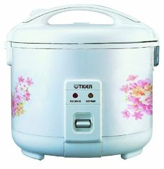 Tiger Electric Rice Cooker - Cooking fluffy, delicious rice is as. of vegetables, seafood, poultry and many other foods in a single. Elec Rice Cooker/food S. Removable non-stick rice cooker bowl. Tiger Rice Cooker, Best Rice Cooker, Small Kitchen Appliances, Kitchen Gadgets, Best Electric Pressure Cooker, Kitchen Electronics, Induction Heating, Appliance Sale, Specialty Appliances