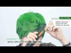 [English subtitles][Korean hair] Unique Hair Styling for Men - YouTube