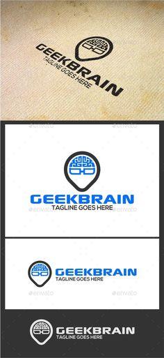 Geek Brain Logo