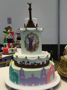pastel mexicano CDMX  mexipan 2016