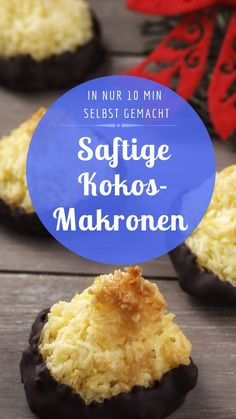 Pin by Bild der Frau on Weihnachtsbäckerei Food To Make, Food And Drink, Sweets, Snacks, Cookies, Baking, Desserts, Trends, Advent