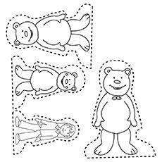 Top 10 Free Printable Goldilocks And The Three Bears Coloring Pages Online Goldilocks And The Three Bears Bears Preschool Three Bears Activities
