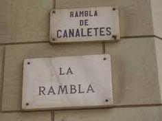 Travel With MWT The Wolf: World Famous Streets     La Rambla Barcellona Espa...