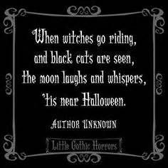 Little Gothic Horrors: Delightfully Dark Quotes. When Witches Go Riding