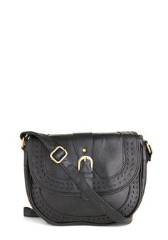 Twist of Licorice Bag. You like flavors, looks, and accessories that are truly unique, and this black shoulder bag is no exception! #black #modcloth
