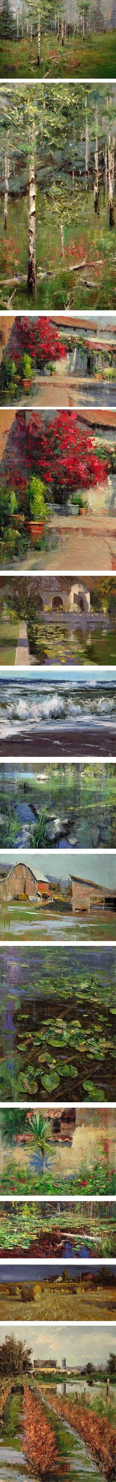 Mike Wise, landscapes
