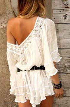 Gypsy tunics.