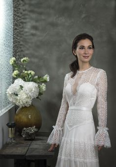 -Celina Jade- Find out more about the Women We Love here. Photography by Ali Ghorbani Celina Jade, Star Girl, Our Love, Ali, Angels, Stars, Wedding Dresses, Celebrities, Hair Styles
