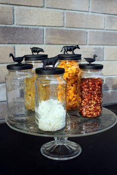 Upcycled Jars www.daytodaydreams.com