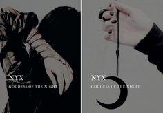 greek mythology → nyx goddess of the night