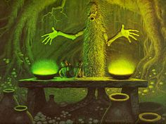 TREEBEARD BY GREG AND TIM HILDEBRANDT