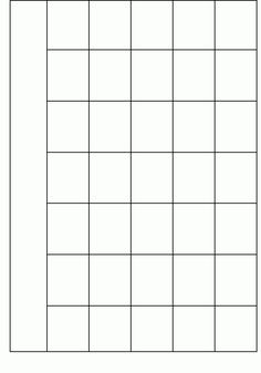 Blank Calendar Template When Printing Choose Landscape And Fit