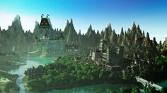 minecraft unbelievable shaders castle project
