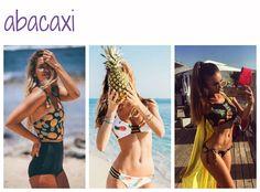 Abacaxi - tendências de moda para a praia
