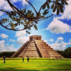 You can not say you've traveled Mexico if you haven't visited the great temple of Kukulkan at Chichen Itza.
