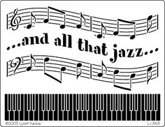 and all that jazz... -