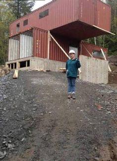 Ricicla due container e realizza la casa dei propri sogni