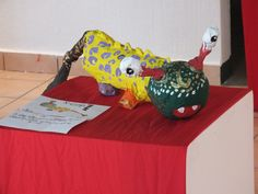 Exposicion de Alebrijes por Alumnos del colegio Itzamna
