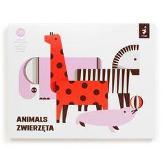Animals - Bastelset aus Pappe