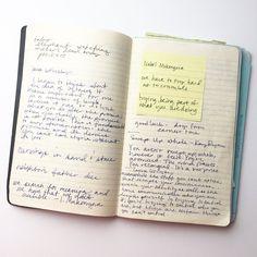 On Still Keeping a Notebook — Notebook Art, Bullet Journal Notebook, Writers Notebook, Journal Diary, My Journal, Journal Prompts, Writing Inspiration, Journal Inspiration, Journal Aesthetic