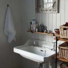 Victorian bathroom with freestanding bath | Traditional small ...