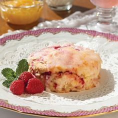 Clipper Merchant's Scottish Raspberry-Ginger Scones - gracious these look GOOD!  :)