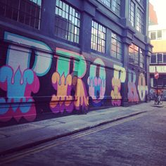 Shoreditch - London - My favorite neighborhood that I hope to live in!