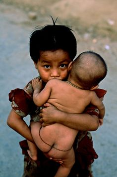 Mizoram, India | Brothers and Sisters series | Steve McCurry