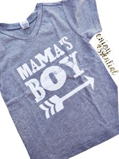 Mama's Boy Vnecks – enjoyessential