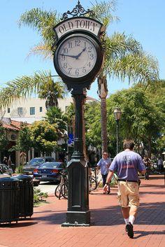 Old Town Santa Barbara, California San Diego