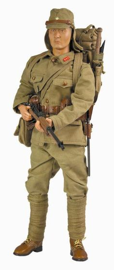 21 Toys Action Figures Vest /& Sash /& Pack 1//6 Scale WWII Japanese Infantry
